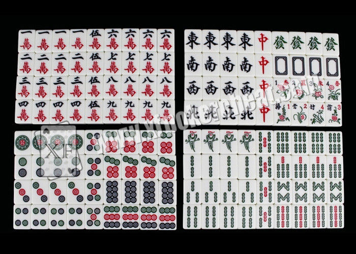 ISO9001 Invisible Playing Cards , Back Mahjong Tiles Mahjong