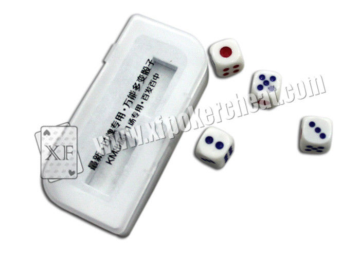 Special Casino Magic Dice For Majhog Gamble Used To  Fixed The Location Of Player