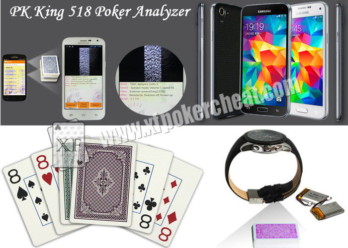 Dominica Bicycle Marked Poker Cards Side Barcode For Poker Scanner Device