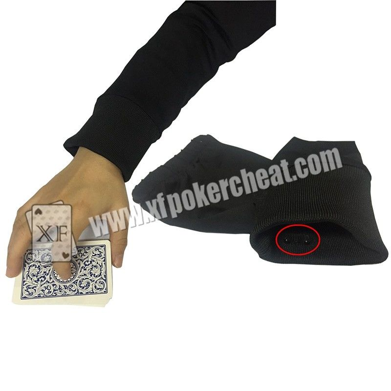 Sleevelet Poker Scanner Infrared Camera For Barcode Marked Cards / Poker Cheating Device