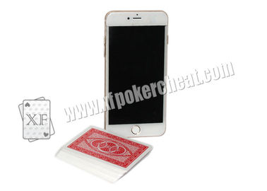 White Plastic Iphone 6 Mobile Poker Exchanger Gambling Cheat Devices