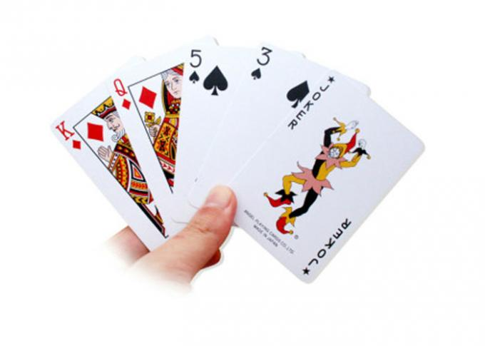 Angle Poker Playing Card Imported With Original Packaging From Japan With 2 Regular Index